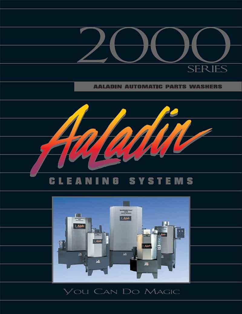 Aaladin 2000 Series PartsWashers