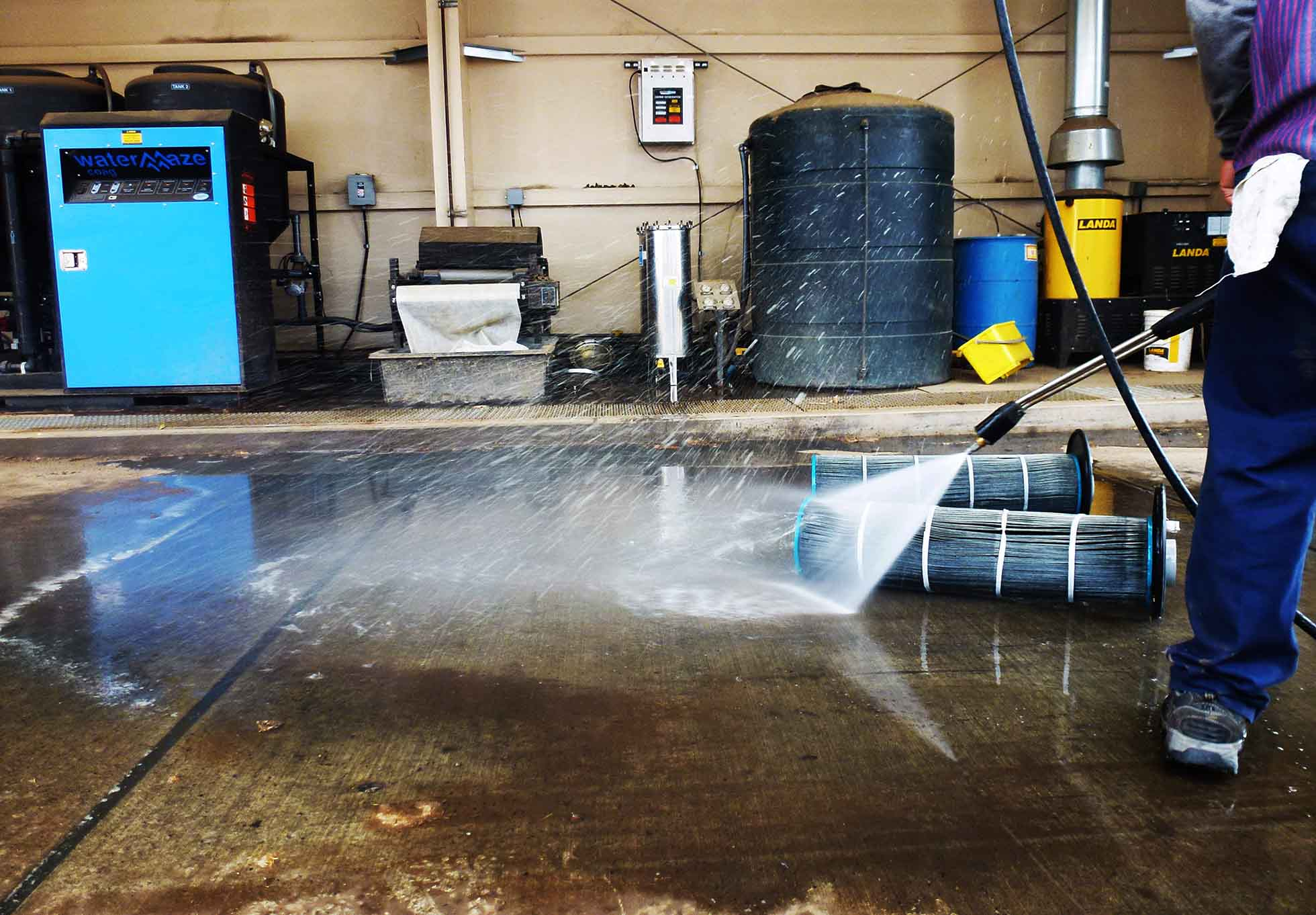 Industrial High Pressure Cleaning Systems