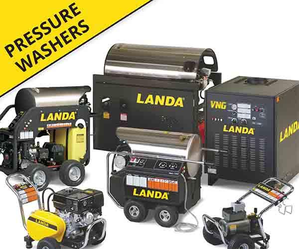 Pressure Washers Yellow Tag