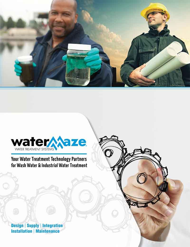 WaterMaze Catalog Cover