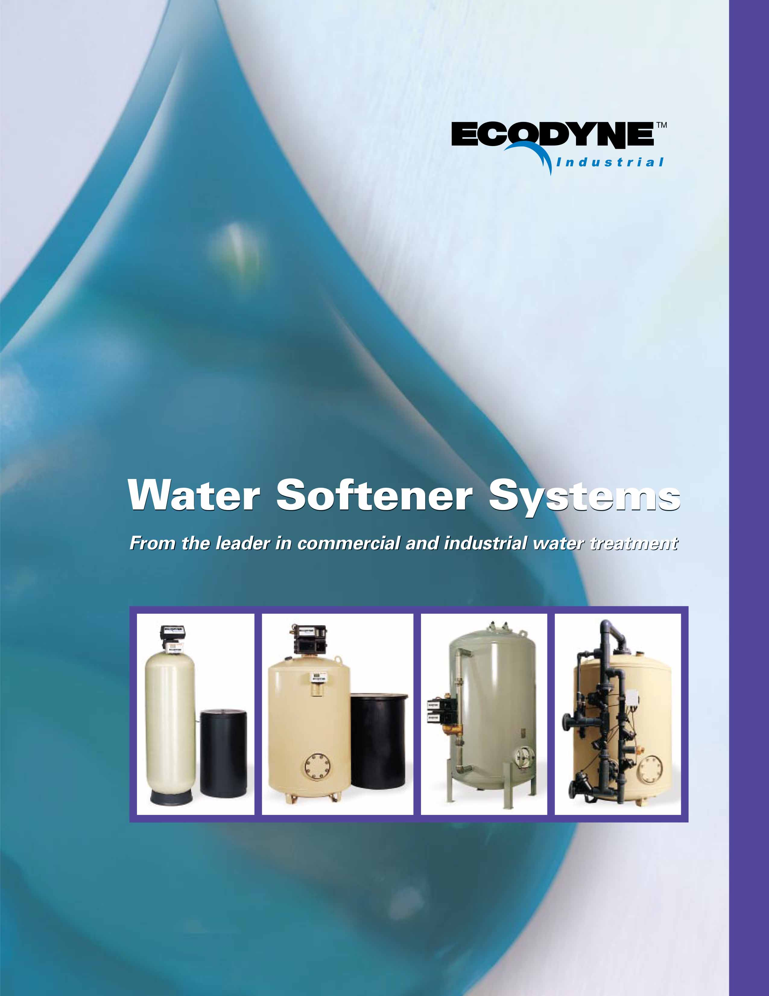 Ecodyne Water Softener Systems Flyer