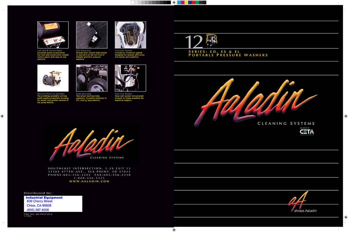 Aaladin 12 Series equipment pamphlet