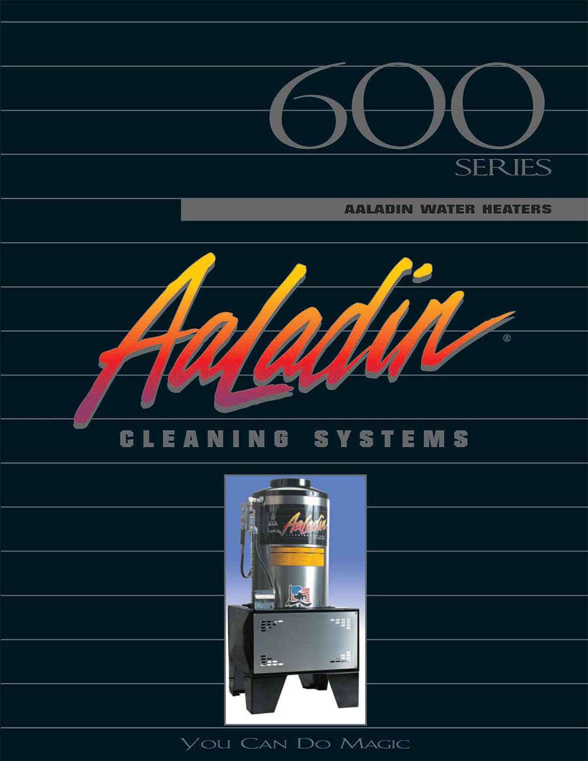 Aaladin 600 Series Cleaning Systems