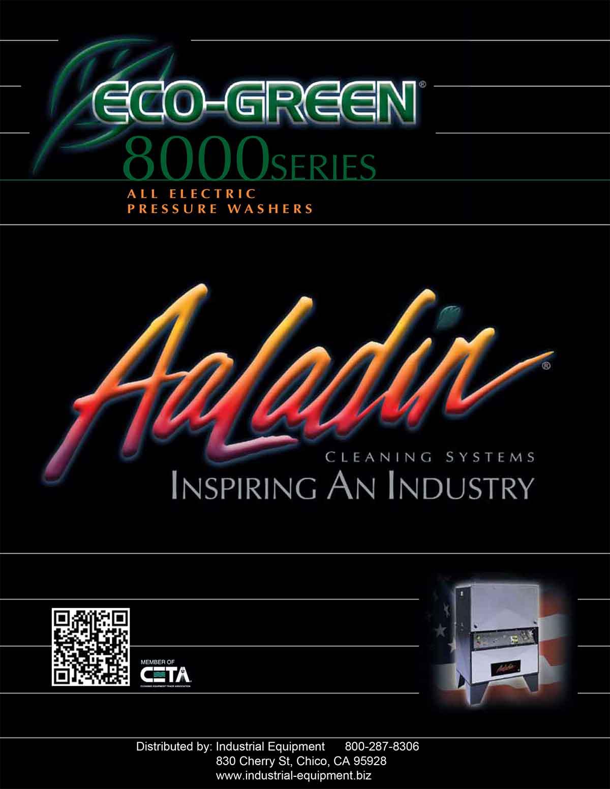 Aaladin Eco-Green 8000 Series Flyer