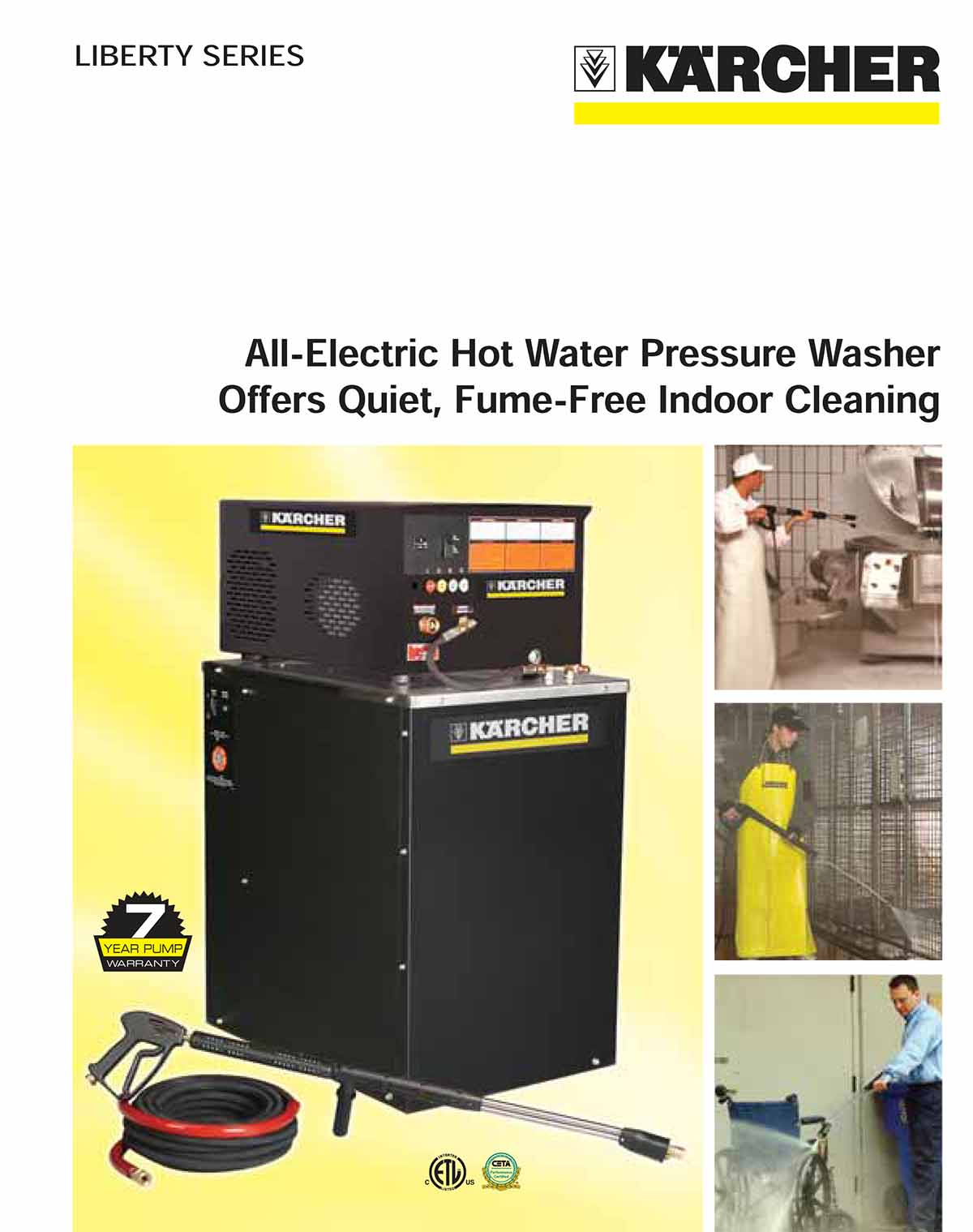 Karcher All Electric Hot Water Pressure Washer