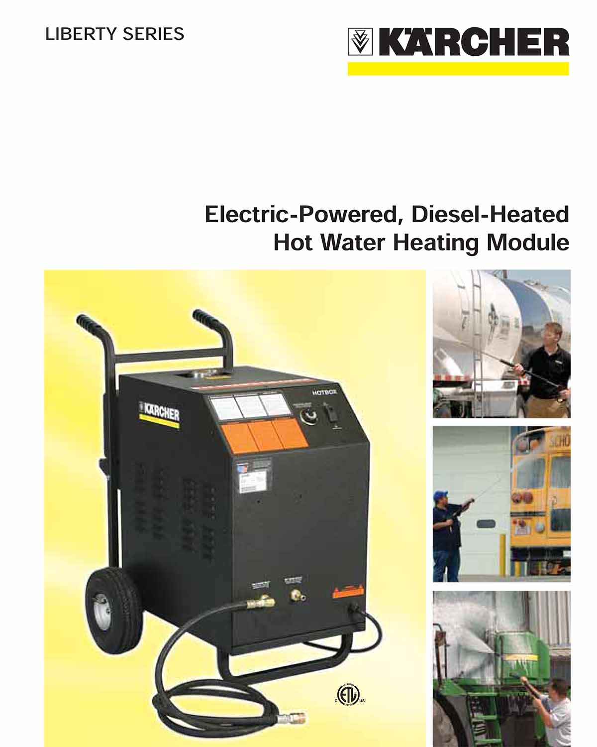 Karcher Electric Powered Hot Water Heating Module