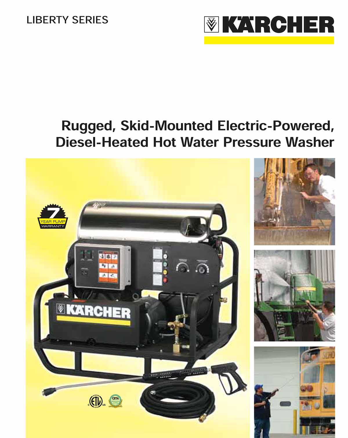 Karcher Liberty Series Hot Water Pressure Washer