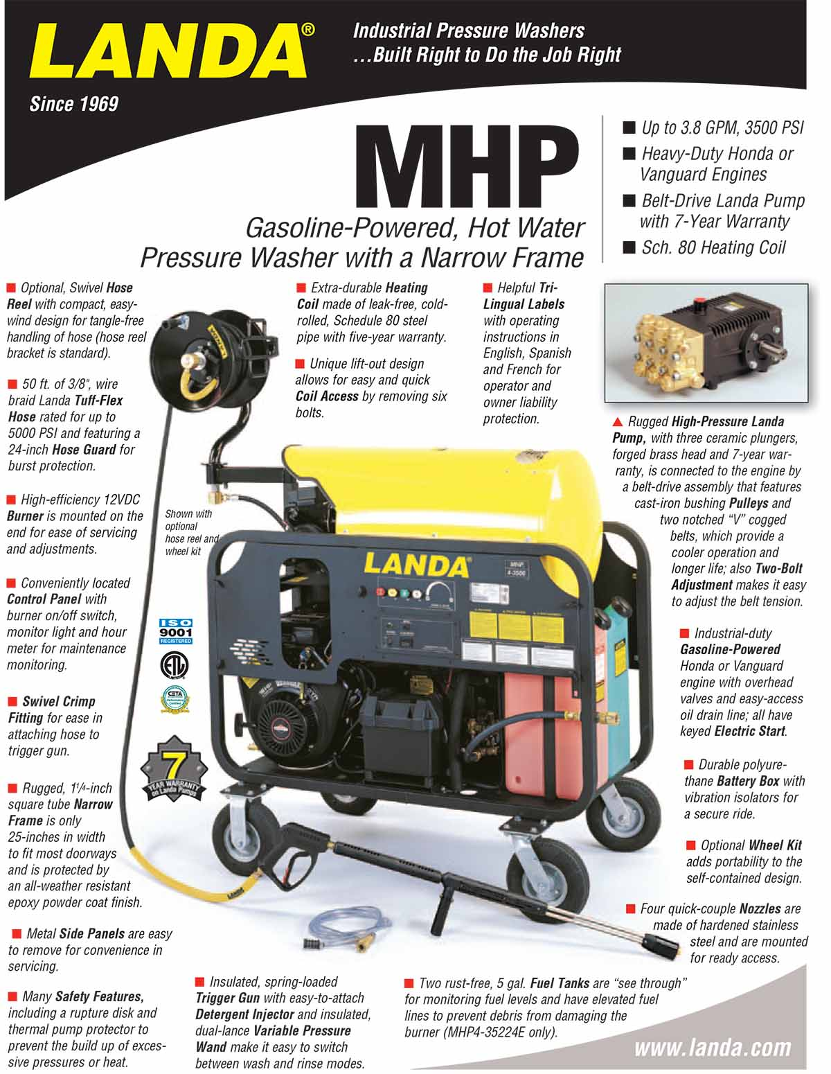LANDA MHP Equipment Flyer