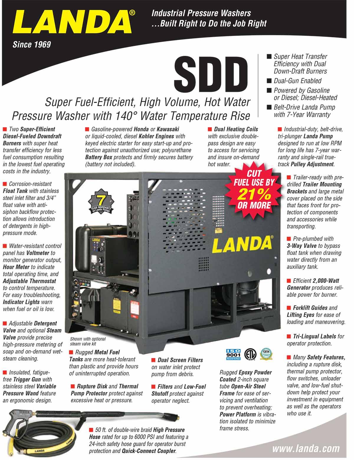 LANDA SDD Product Flyer