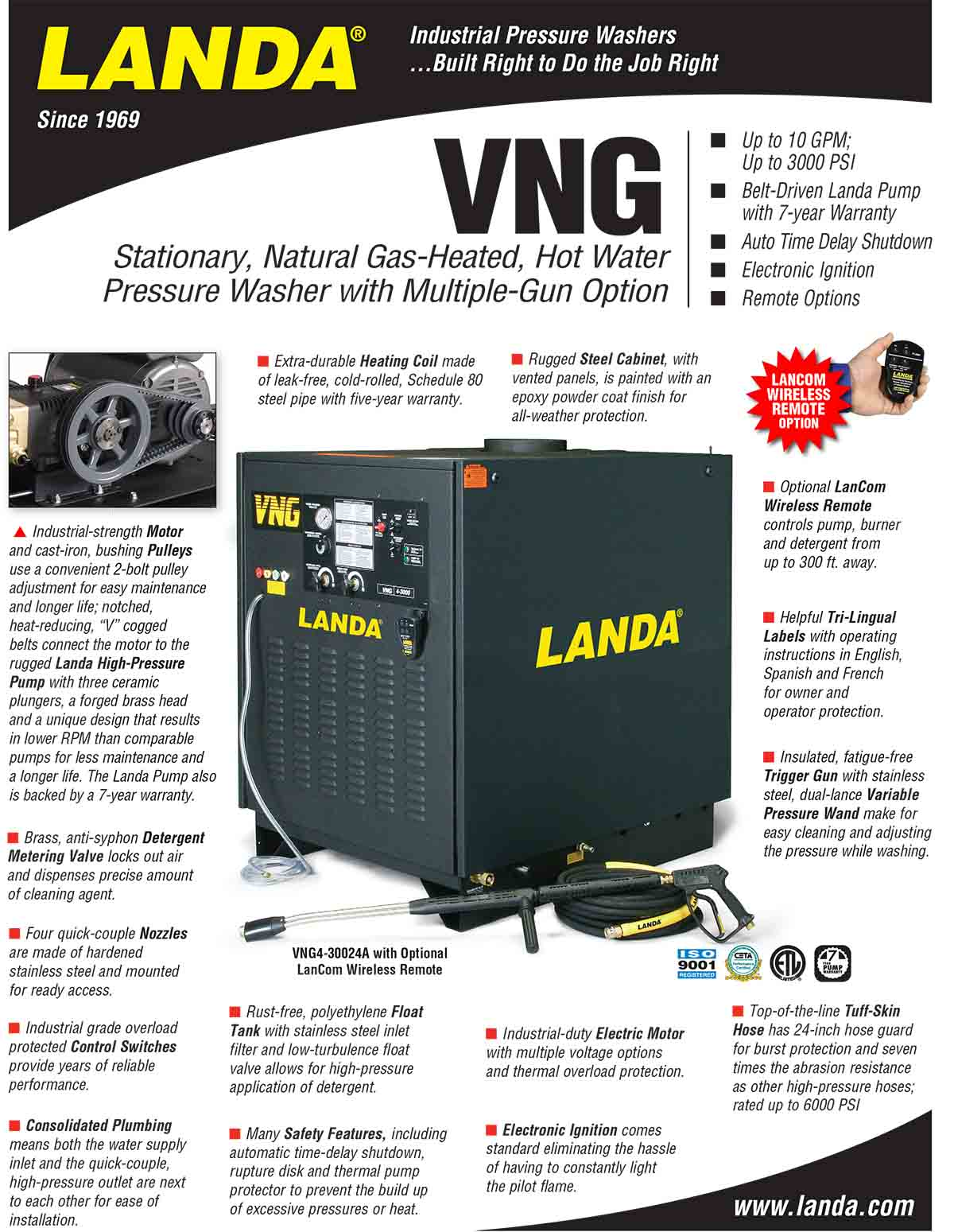 LANDA VNG Equipment Flyer