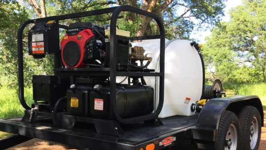 Mobile Pressure Washer Trailer