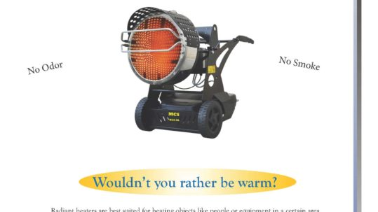 Mobile Radiant Heaters Pamphlet