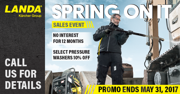Spring On It Sales Event Promo